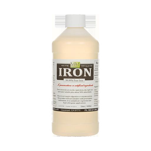 99.9% pure iron